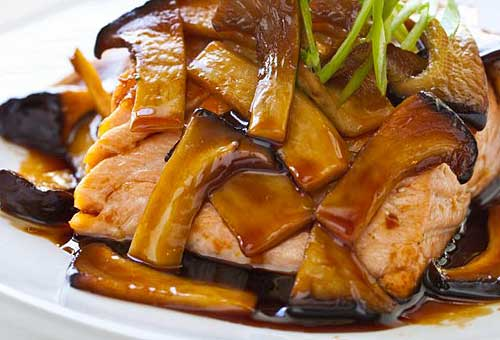 лосось с еринги